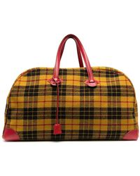 Hermès Pre-owned Travelling England Travel Bag - Yellow
