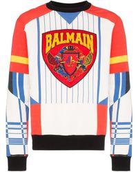 Balmain プリント セーター - マルチカラー