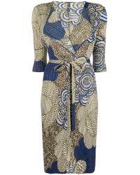 Pleats Please Issey Miyake - Pleated Floral Print Coat - Lyst