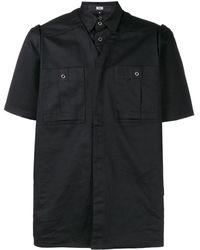 KTZ レイヤード Tシャツ - ブラック