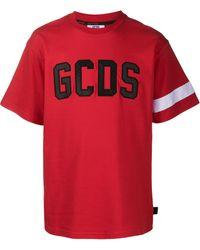 Gcds ロゴ Tシャツ - レッド
