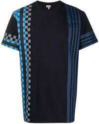 Loewe ロゴ Tシャツ - ブルー