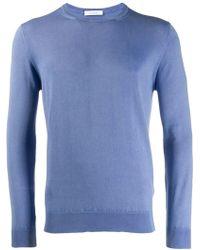 Cruciani クルーネック セーター - ブルー