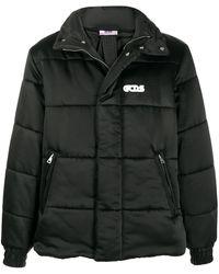 Gcds キルティング ジャケット - ブラック