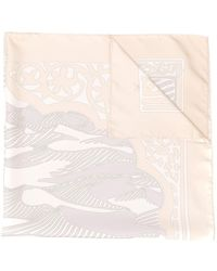 Hermès 2000's Pre-owned Abstract Print Scarf - Multicolour
