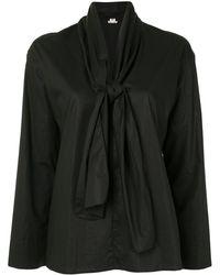 Hermès - Блузка С Бантом Pre-owned - Lyst