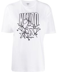 KENZO ロゴ Tシャツ - ホワイト