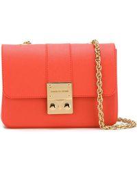Designinverso - Amalfi Leather Cross-Body Bag - Lyst