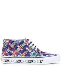 Vans X Fergus Purcell Og Chukka Sneakers - Blauw