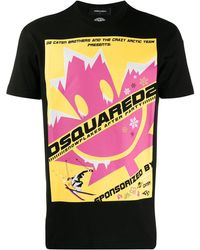 DSquared² - リーフプリント Tシャツ - Lyst