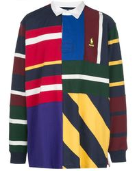 Palace X Polo Ralph Lauren Pieced Rugby Shirt - Multicolor