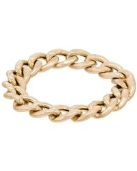 Zoe Chicco 14kt Gold Chain Style Ring - Metallic