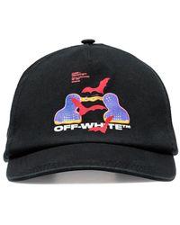 Off-White c/o Virgil Abloh Honkbalpet Met Logo - Zwart