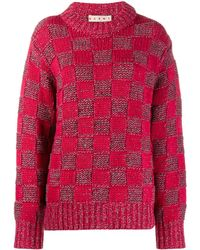 Marni - チェック セーター - Lyst