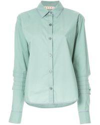 Marni - Puff Sleeve Shirt - Lyst