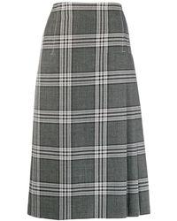 Marni - チェック スカート - Lyst