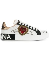 Dolce & Gabbana - Portofino Sneakers - Lyst