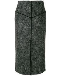 Pringle of Scotland - Tweed Pencil Skirt - Lyst