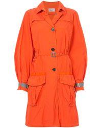 Kolor | Belted Military Coat | Lyst