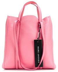 Marc Jacobs Borsa tote The Tag - Rosa