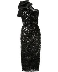 Dolce & Gabbana スパンコール ドレス - ブラック
