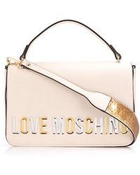 Love Moschino ロゴ ショルダーバッグ - マルチカラー