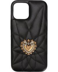 Dolce & Gabbana Cover per iPhone 11 Pro - Nero