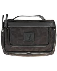 Emporio Armani Logo Washbag - Black