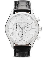 Frederique Constant Наручные Часы Classics Quart Chronograph 40 Мм - Металлик