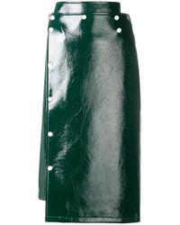 Eudon Choi - Vinyl Pencil Skirt - Lyst
