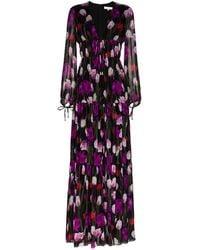 Borgo De Nor Freya Tiered Maxi Dress - Black