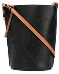 Loewe ゲート アナグラム バケットバッグ - ブラック