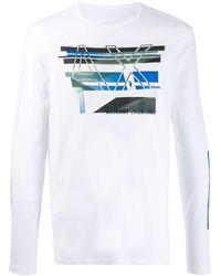 Armani Exchange プリント Tシャツ - マルチカラー
