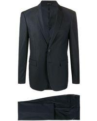Tonello シングル テーラードスーツ - ブルー