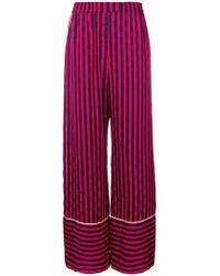 House of Holland - Pantaloni a righe - Lyst