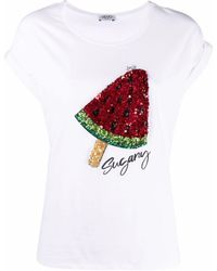 Liu Jo - Delicious Tシャツ - Lyst
