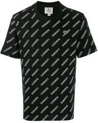 Lacoste L!ive ロゴ Tシャツ - ブラック