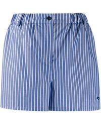 Etro ロゴ ショートパンツ - ブルー