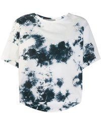 Suzusan Tie-dye T-shirt - White