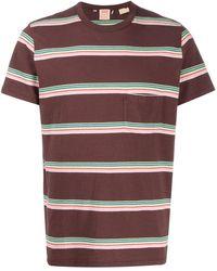 Levi's ストライプ ポケット Tシャツ - マルチカラー