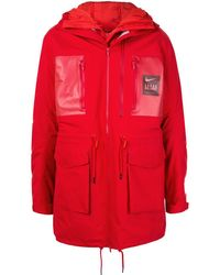 Nike X Undercover Fishtail Parka Coat - Red