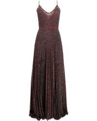 Missoni Платье Макси С Вышивкой - Красный
