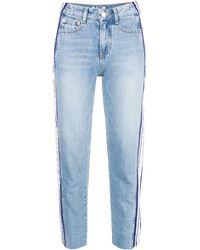 SJYP Side Stripe Jeans - ブルー