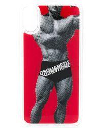 DSquared² Чехол Для Iphone X - Красный