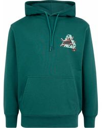 Palace Octo-print Hoodie - Green