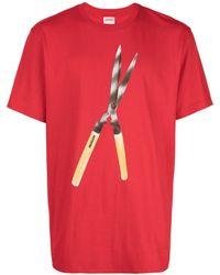 Supreme Shears Tシャツ - レッド
