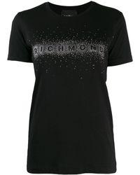 John Richmond - スタッズロゴ Tシャツ - Lyst