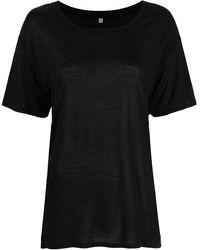 Baserange クルーネック Tシャツ - ブラック