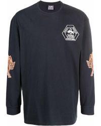 PUMA ロゴパッチ ロングスリーブトップ - ブラック