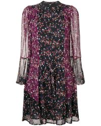 PAIGE - Floral Print Dress - Lyst